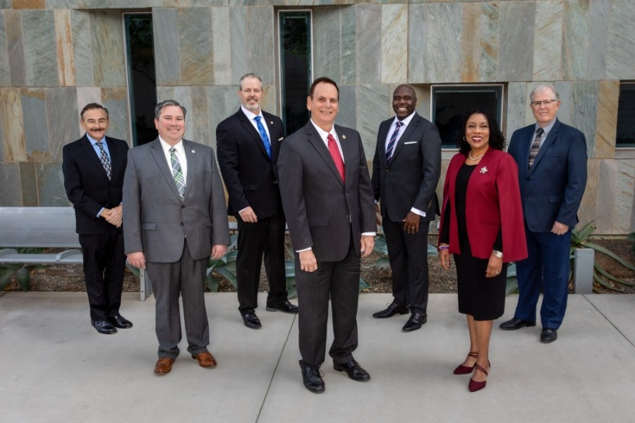 The Chandler City Council has a new vice mayor and two new members. (Courtesy city of Chandler)