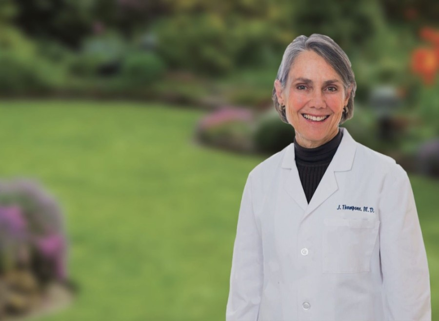 Dr. Judith L. Thompson, a prominent surgeon in New Braunfels, said she is seeking to make sure people stay calm while awaiting information about incoming COVID-19 vaccines. (Courtesy Dr. Judith L. Thompson)