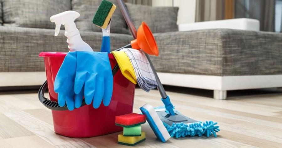The residential house cleaning company offers regular, ongoing house cleanings with the same two-person team for every visit. (Courtesy Dallas Sunrise Maids)