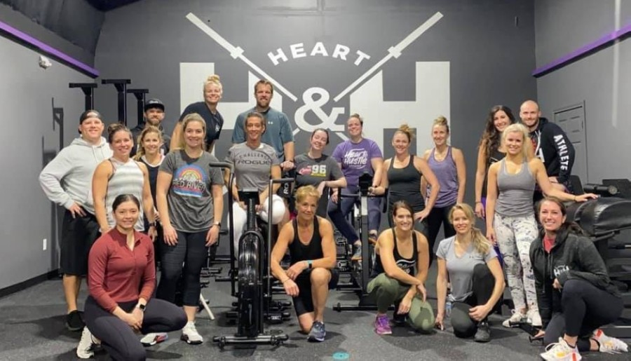 The new business is housed in a climate-controlled facility that features state-of-the-art equipment. It offers five different classes that cater to all levels of experience and that incorporate high-intensity interval training, weightlifting and cardio circuits. (Courtesy Heart & Hustle CrossFit)