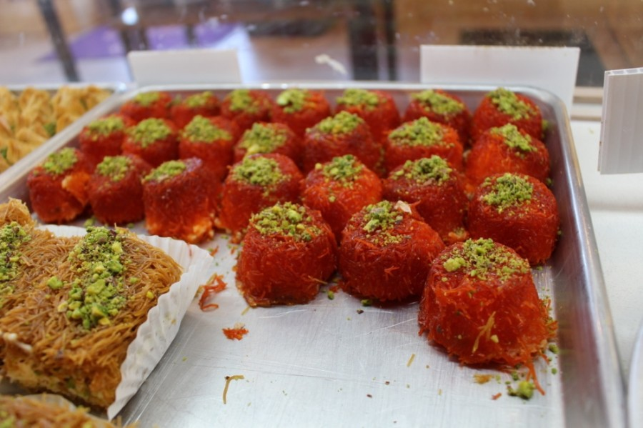 Bigdash started when Asmaa Khattab began experimenting with Arab ice cream, also called bousa, and kanafeh recipes at home. (Francesca D'Annunzio/Community Impact Newspaper)