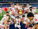 The Katy High School Tigers beat the Cedar Hill Longhorns on Jan. 16, earning the school's ninth UIL 61 championship title. (Courtesy Dana Congleton Koger)