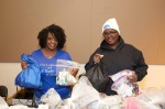 Volunteers prepare care packages for those found unsheltered and facing homelessness on the night of the point-in-time count in 2019. (Courtesy Metro Dallas Homeless Alliance)