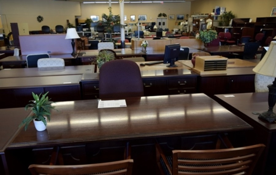 The Benefit Store offers a variety of office desks, filing cabinets, ergonomic chairs and more. (Courtesy The Benefit Store)