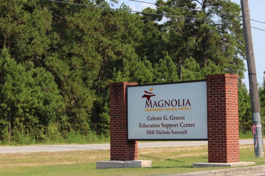 Magnolia ISD board members approved additional paid sick leave and a $500 bonus payment to district employees in a Jan. 19 board meeting. (Adriana Rezal/Community Impact Newspaper)