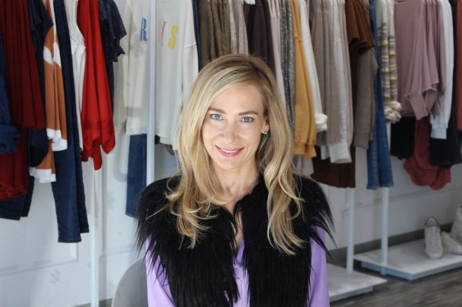 Kairy-tate Barkley is owner and founder of French Cuff Boutique. (Ben Thompson/Community Impact Newspaper