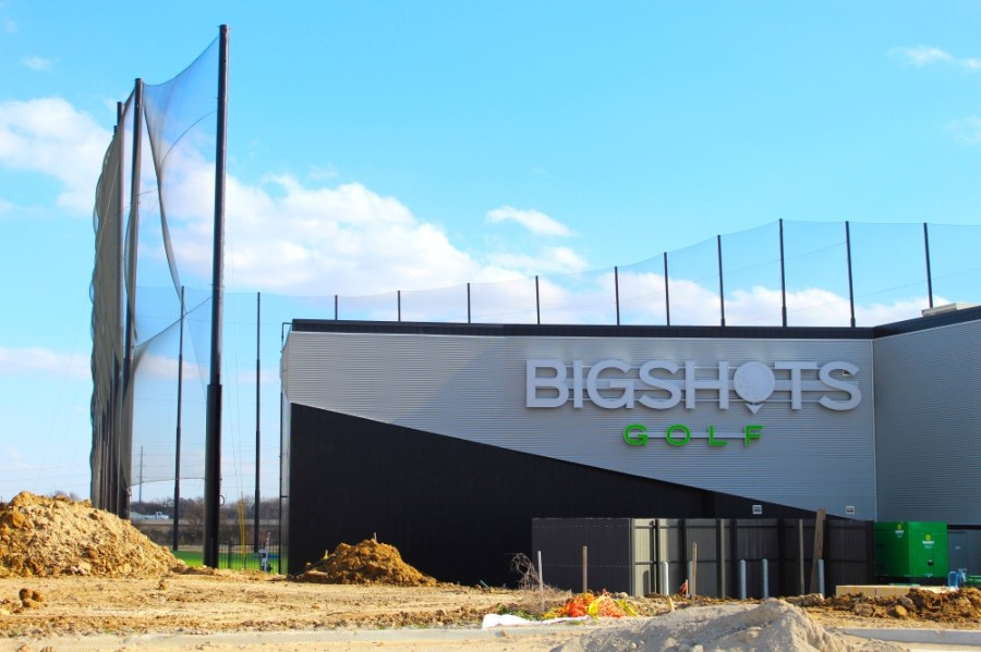 The first BigShots Golf location in the state of Texas will open in north Fort Worth in early 2021. (Ian Pribanic/Community Impact Newspaper)