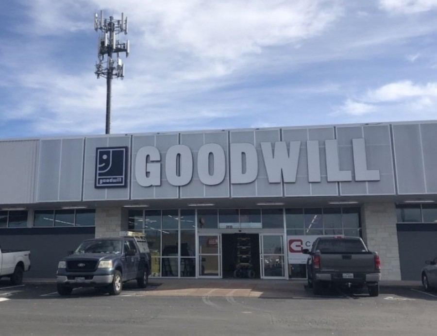 Goodwill Central Texas opened a location at 2415 S. Congress Ave., Austin, on Jan. 14. (Amy Rae Dadamo/Community Impact Newspaper)