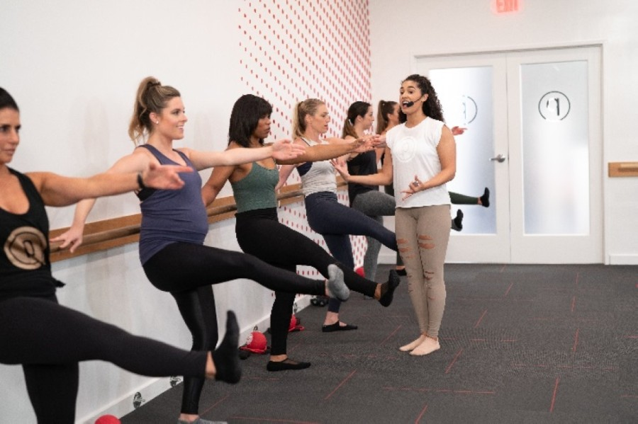 Gyms and personal trainers, such as Pure Barre, are offering virtual workout classes during the coronaviurs pandemic. (Courtesy Pure Barre)