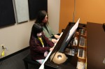 Music SO Simple owner Stathia Orwig gives 6-year-old student Sophia Nguyen a piano lesson. (William C. Wadsack/Community Impact Newspaper)