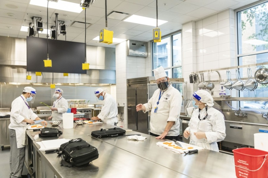 The Austin Community College District's 28,000-square-foot culinary arts wing is now open at ACC Highland. (Courtesy Austin Community College)