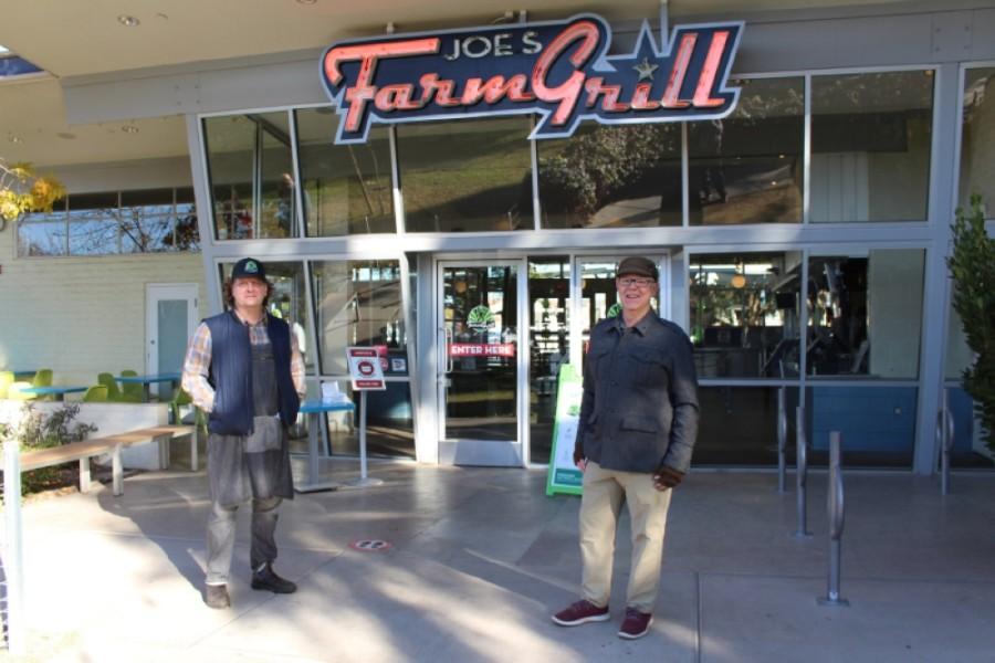 Bill Eaton, Joe Johnston, Joe's Farm Grill
