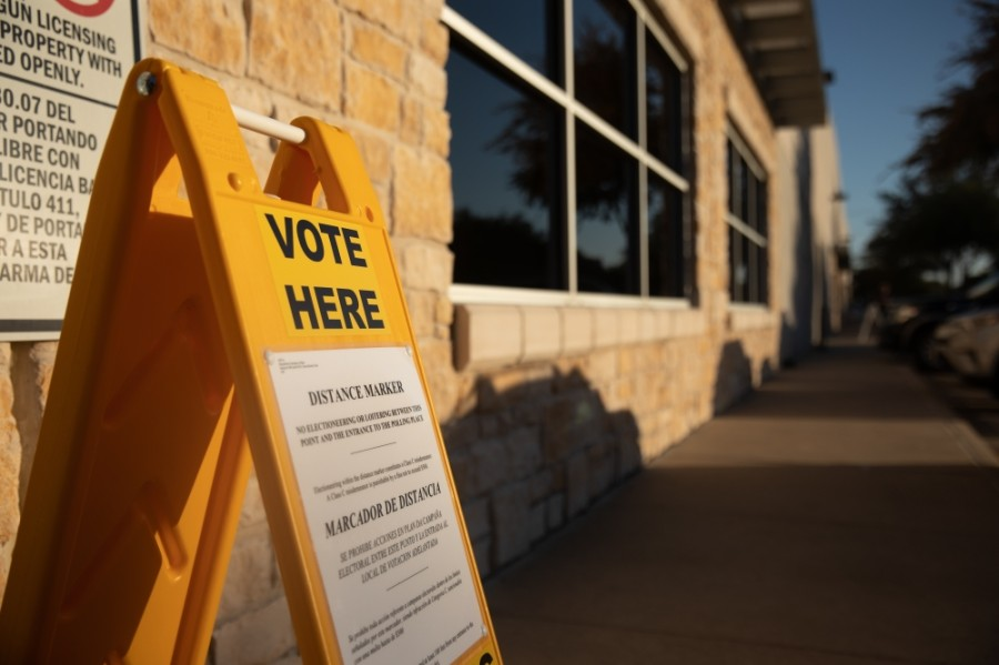 Early voting will begin April 12 for the May 1 election. (Liesbeth Powers/Community Impact Newspaper)
