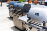 The store will continue to offer the same items and services in its new space, including grills, smokers, grilling tools and accessories, seasoning, sauces and outdoor patio construction. (Courtesy Premier Grilling)