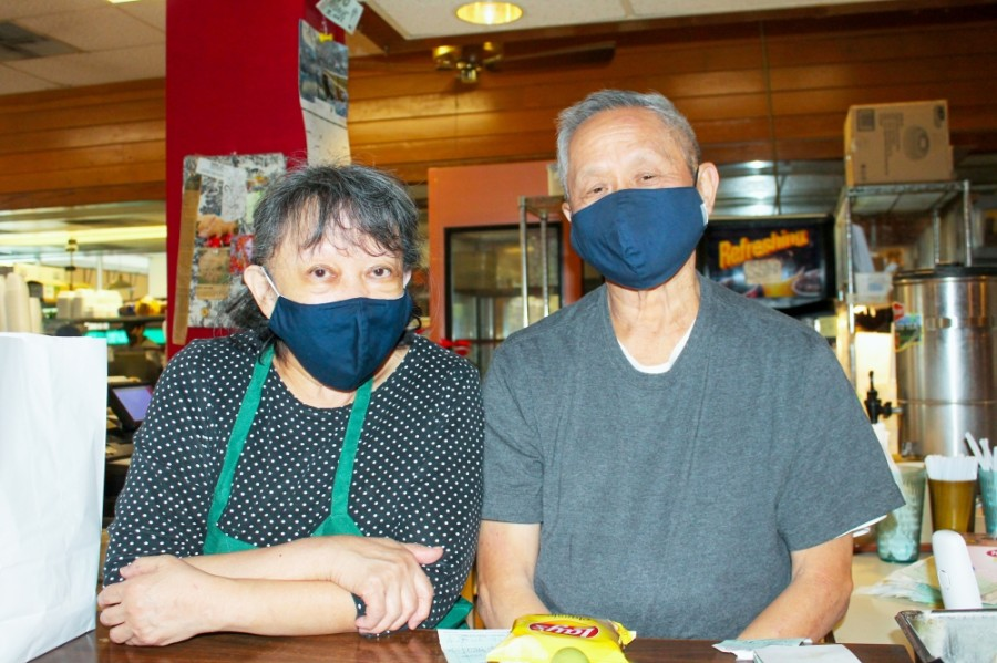Kertty and Fernando Chow have been running Chelsea Deli & Cafe since 1984. (Andy Li/Community Impact Newspaper)