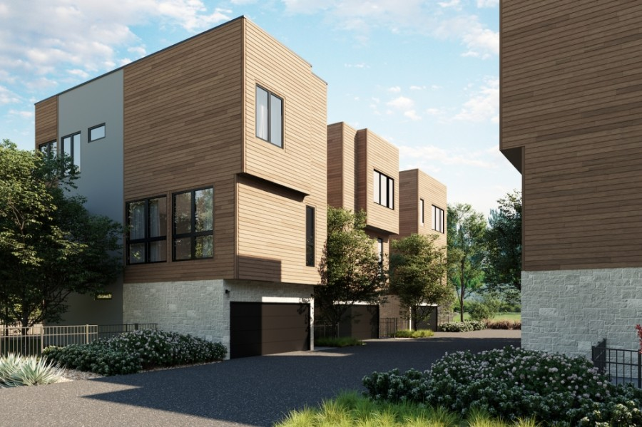 Alder could open its first units in Southwest Austin this fall. (Rendering courtesy Brandon Miller Group)