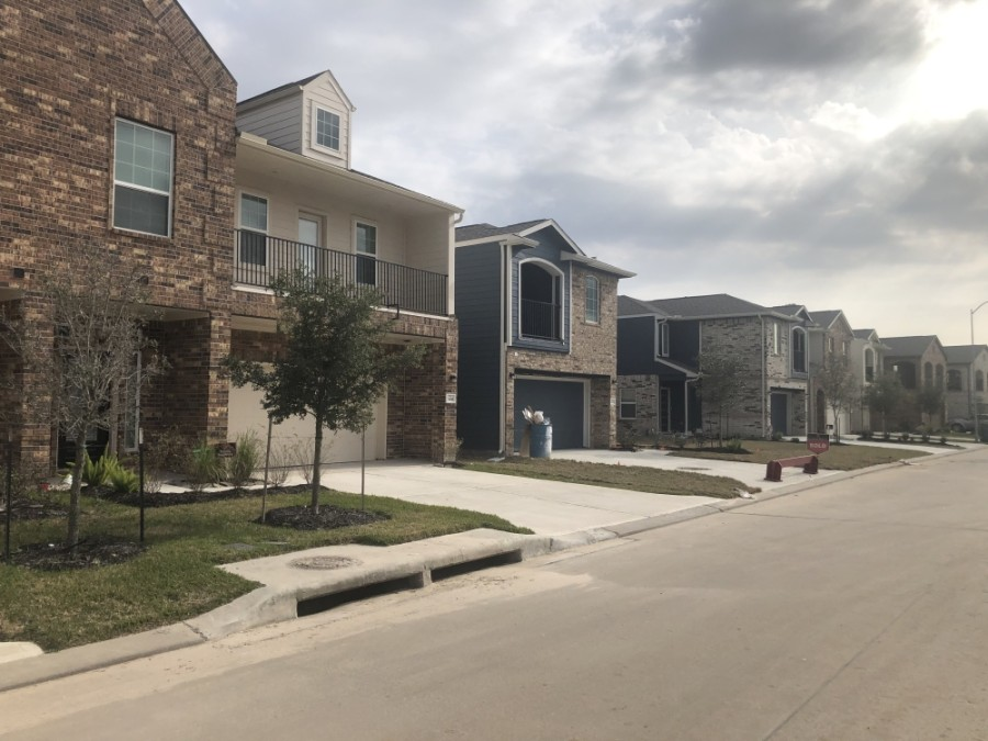 The Harmony neighborhood is among those in the growing area near the Grand Parkway east of I-45. (Andrew Christman/Community Impact Newspaper)