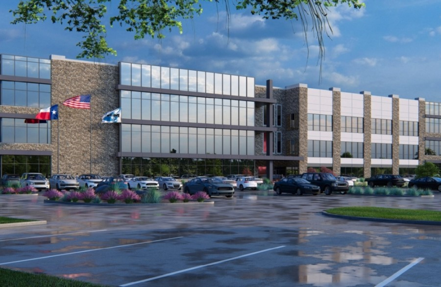 RPM xConstruction is bringing its headquarters to McKinney. (Rendering courtesy city of McKinney)