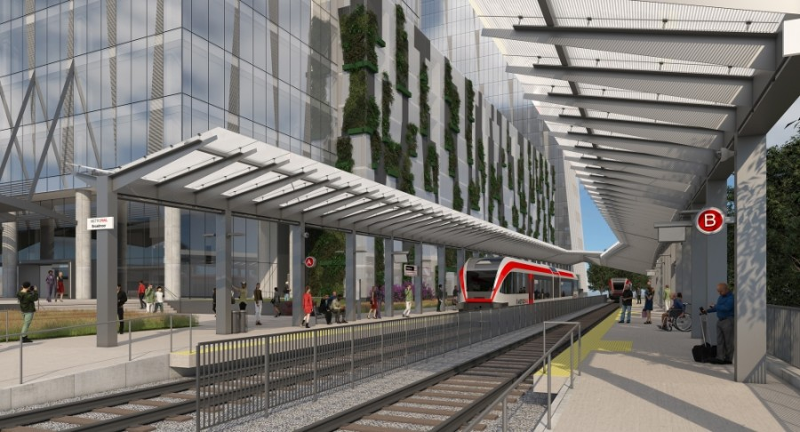 Broadmoor station rendering