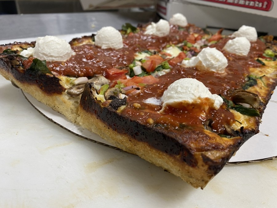 Motor City Pizza has opened a pop-up business in Lewisville specializing in Detroit-style pizza. (Courtesy Motor City Pizza)