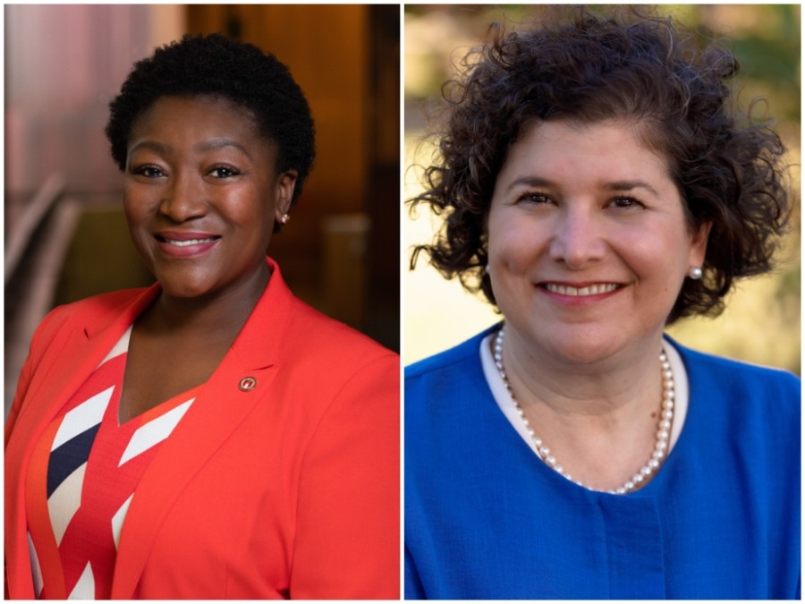District 1 Council Member Natasha Harper-Madison, left, and District 10 Council Member Alison Alter will serve successive one-year terms as mayor pro tem. (Courtesy city of Austin/Alison Alter)