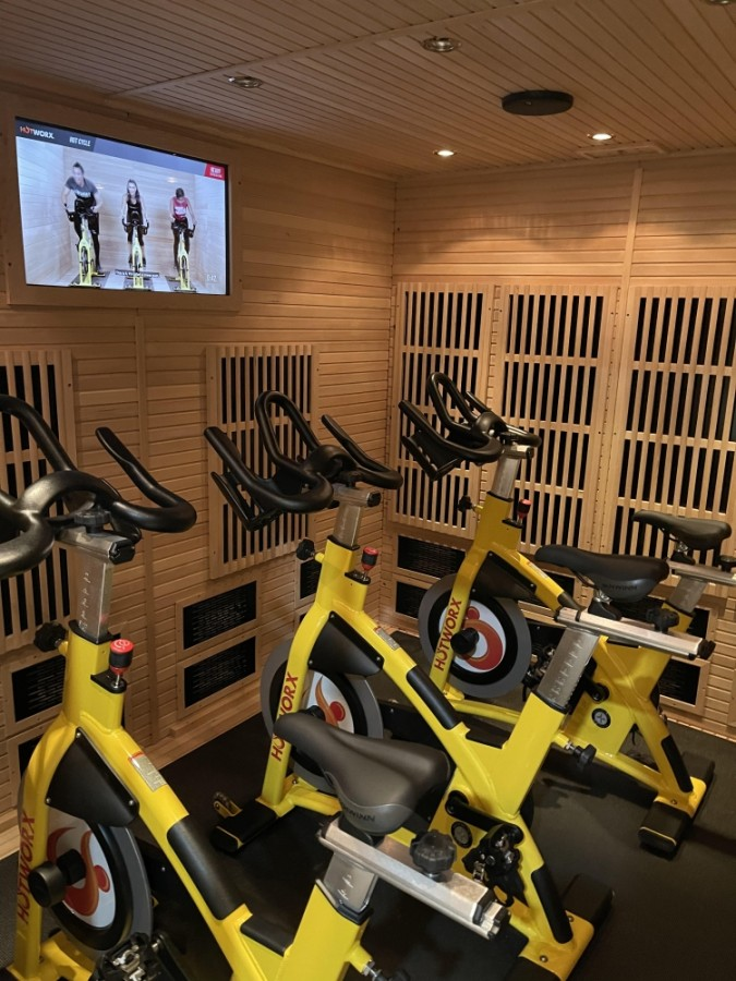 Following its fall launch, Hotworx is planning a February grand opening for its Augusta Woods studio. (Courtesy Hotworx)