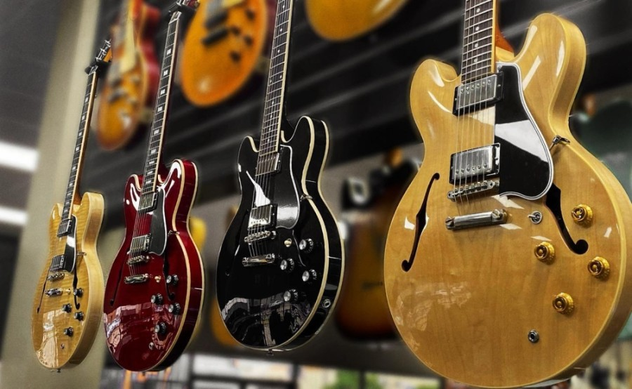 Tone Shop Guitars is an independent guitar shop from Addison. (Courtesy Tone Shop Guitars)
