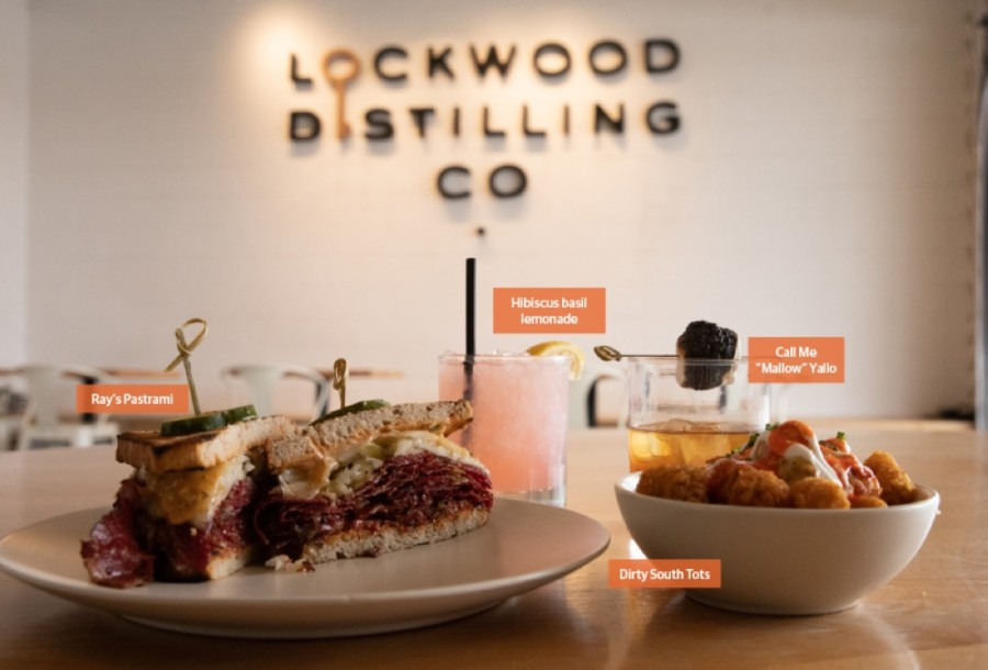 Lockwood Distilling Co. in Richardson is part restaurant, part spirits manufacturer. The business also hosts events. (Liesbeth Powers/Community Impact Newspaper)