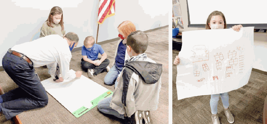 FISD leaders took young learners' ideas into account in the planning of a new Cline Elementary School campus. (Courtesy Friendswood ISD, PBK Architects)