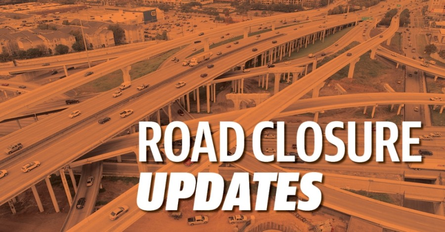 From FM 1764 to FM 1765, two of three I-45 main lanes will be closed the weekend of Jan. 30. (Community Impact staff)