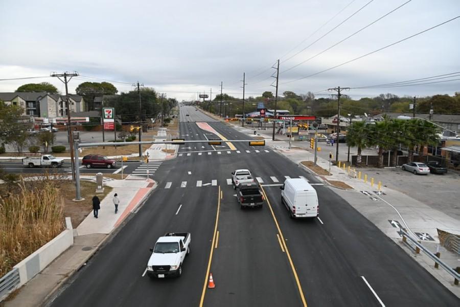 North Lamar Boulevard and Payton Gin Road