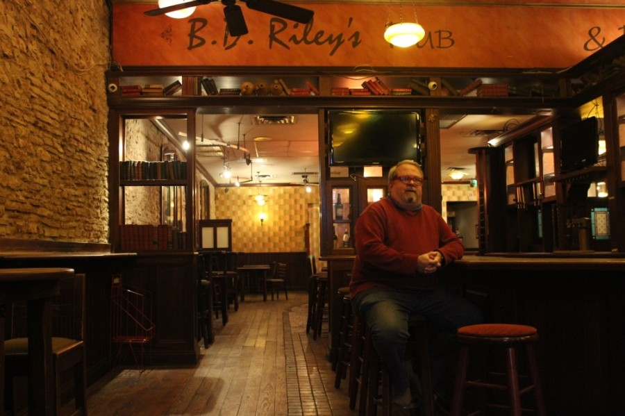 Steve Basile closed the downtown location of B.D. Riley's on East Sixth Street in August. (Christopher Neely/Community Impact Newspaper)