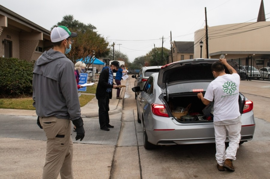 West U residents helped divert nearly 12 tons of food waste. (Courtesy city of West University Place)