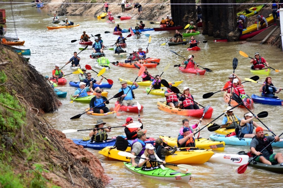 The 2021 Buffalo Bayou Regatta has been pushed back to October. (Courtesy Jordan Mahoney/Buffalo Bayou Partnership)