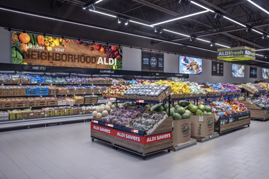 Aldi has several other locations throughout the Dallas-Fort Worth area. (Courtesy Aldi)