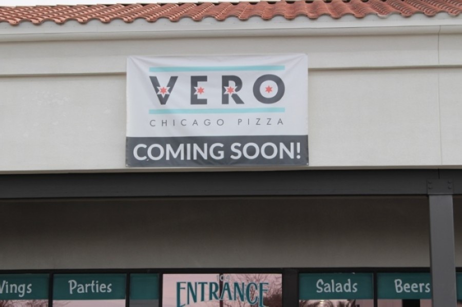 Vero Chicago Pizza comes from the owners of Buddyz A Chicago Pizzeria. (Tom Blodgett/Community Impact Newspaper)