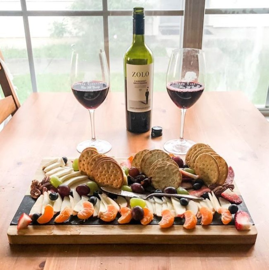 Cheers to your Valentine this holiday with Craft & Racked Wine Bar's takeout charcuterie boards and wine flights. (Courtesy Craft & Racked Wine Bar)