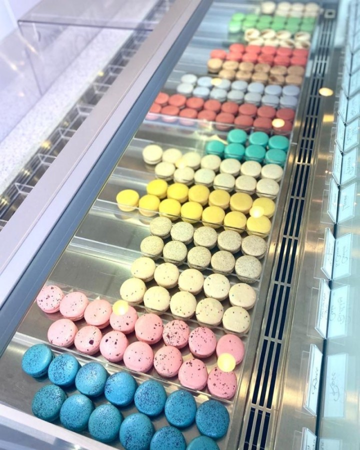 Macarons are available in a wide variety of tastes and flavors at Macaron by Patisse. (Courtesy Macaron by Patisse)