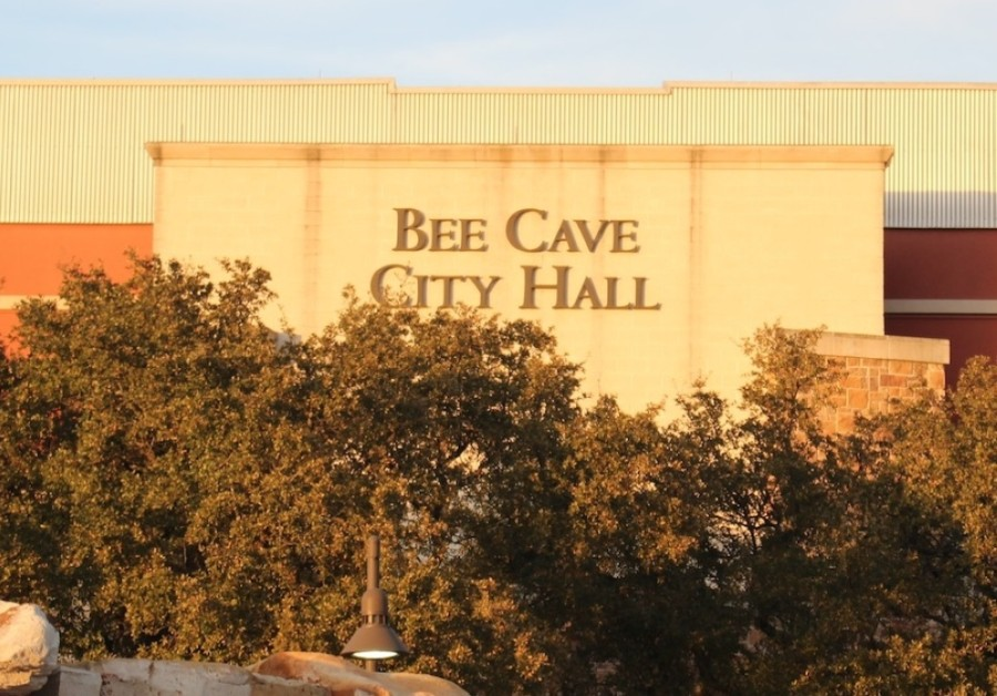Bee Cave City Council Feb. 9 questioned the 60-foot height of a proposed church tower at its recent public meeting. (Community Impact Newspaper staff photo)