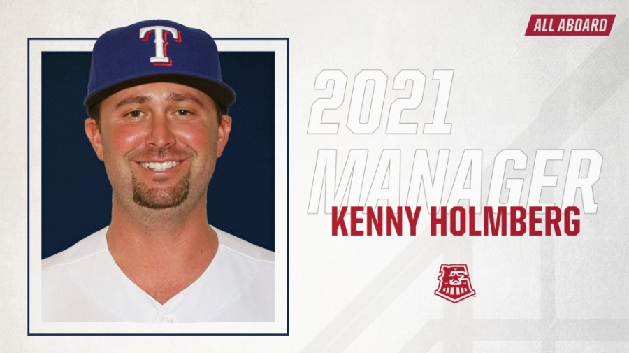 Kenny Holmberg is new manager for the Round Rock Express as it reunites with the Texas Rangers. (Courtesy Round Rock Express)