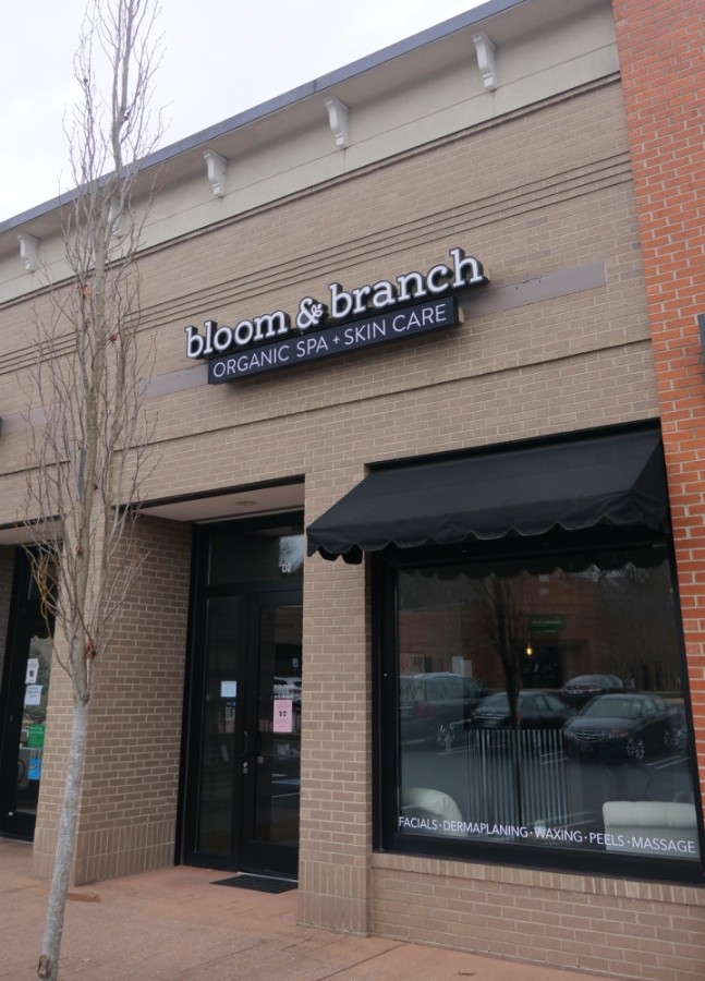 Bloom & Branch Organic Spa is located on Mayfield Drive in Cool Springs. (Courtesy Bloom & Branch Organic Spa)