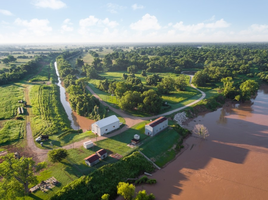 Pearland's surface water treatment plant will treat the water pulled from the Brazos River by the Gulf Coast Water Authority, a regional water provider. (Courtesy Gulf Coast Water Authority)