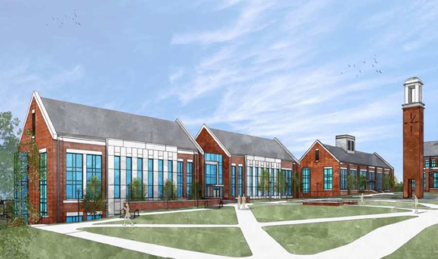 Columbia State Community College-Williamson has announced plans to add a fourth building to its campus in Franklin, pending state budget approval. (Courtesy Columbia State Community College)