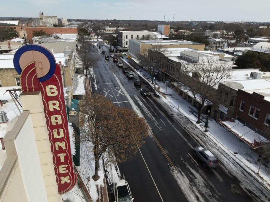 NBU offices and New Braunfels facilities will be closed Feb. 18, and some services have also been suspended. (Warren Brown/Community Impact Newspaper)