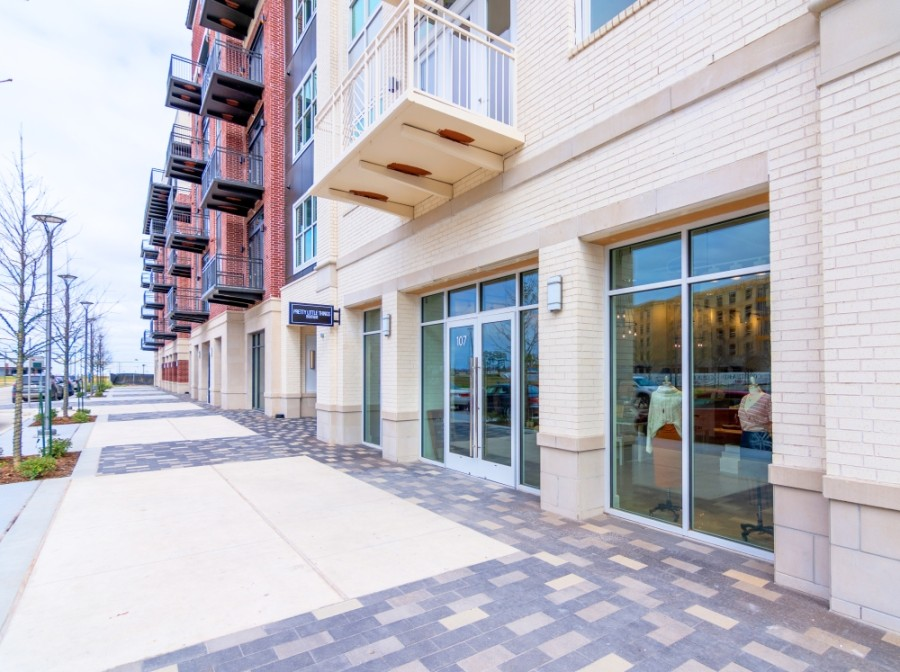 Eden Salon Suites opened on the bottom floor of 255 Assay apartments Feb. 22. (Courtesy McCord Development)