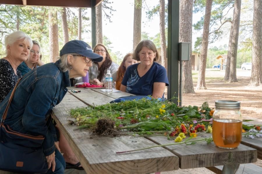 Harris County Precinct 4 hosts a Wildflower and Women event in the Kickerillo-Mischer Preserve. (Courtesy Harris County Precinct 4)