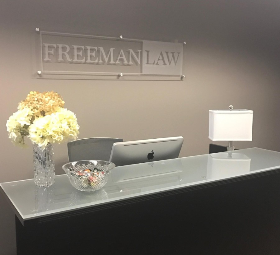 Freeman Law relocated its Frisco office to the city's downtown district in early February. (Courtesy Freeman Law)