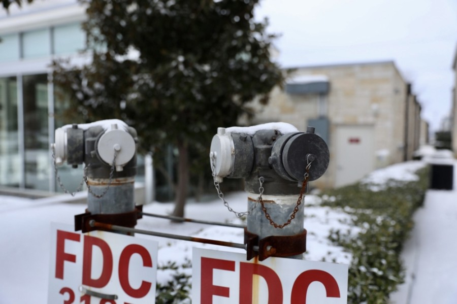 Water damage and HVAC, plumbing and electrical issues affected 33 campuses in different levels of severity, PISD shared in an email update Feb. 19. Four other district facilities were also affected by the storms. (Liesbeth Powers/Community Impact Newspaper)