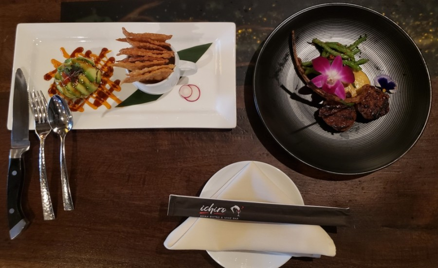 Ichiro offers an array of Asian-influenced meals. (Ali Linan/Community Impact Newspaper)
