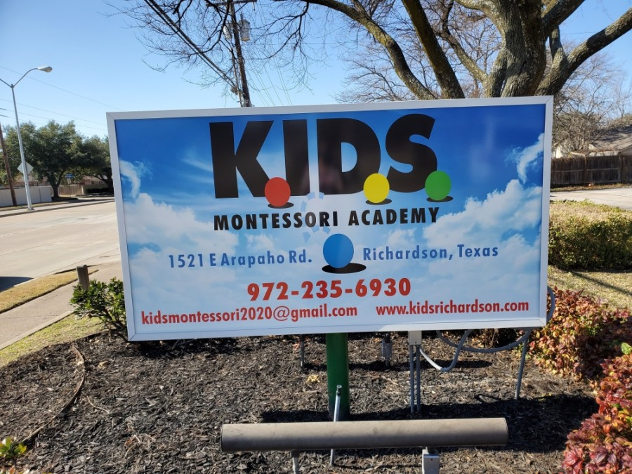 The early learning and child care center operates in a Montessori environment, which promotes lively and purposeful engagement in both indoor and outdoor settings, according to Kids Montessori Academy social media pages. (Courtesy Kids Montessori)